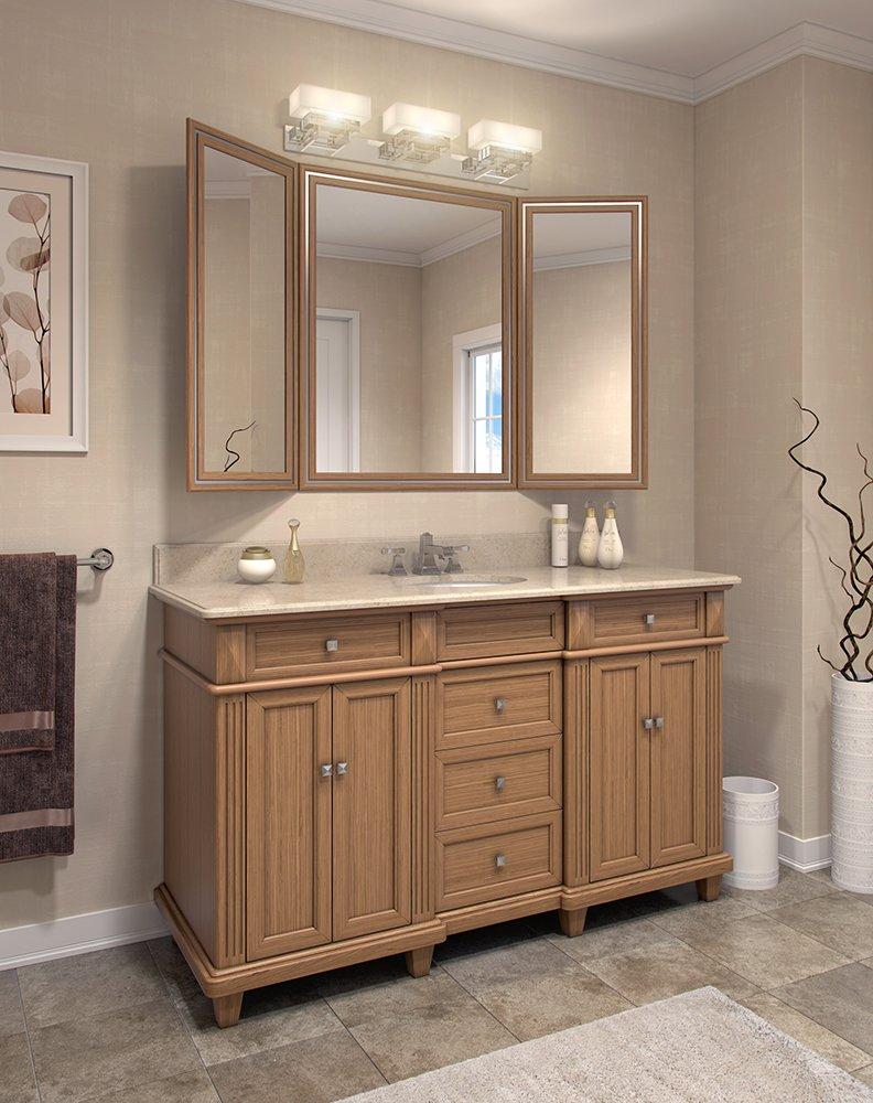 Golden Oak Vanity Flair Contractors Wardrobe