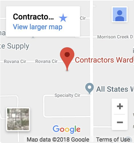contractors wardrobe sacramento location