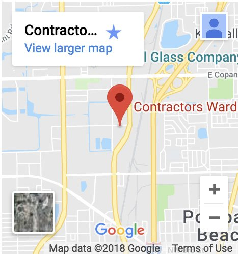 contractors wardrobe pompano beach location